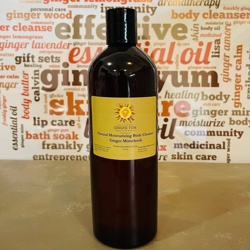 Ginger Yum Moisturizing Body Cleanser