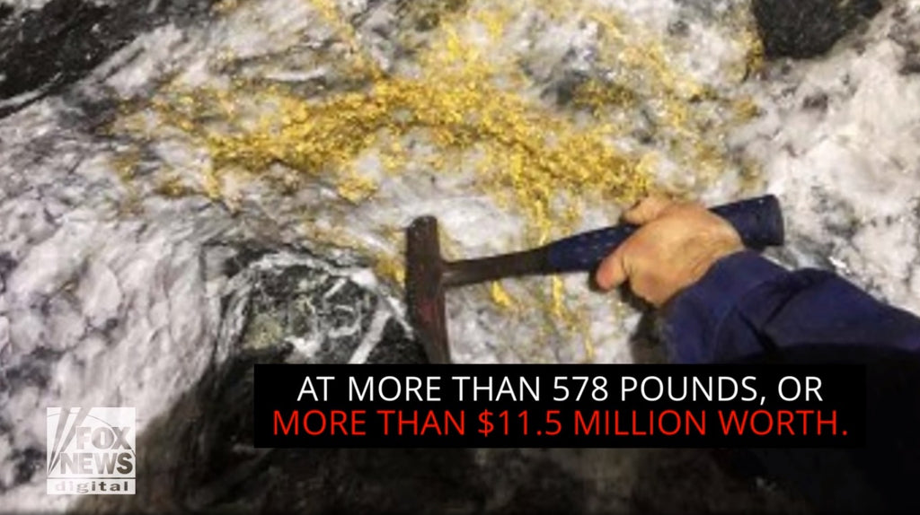 Massive gold 'mother lode' discovered in Australia