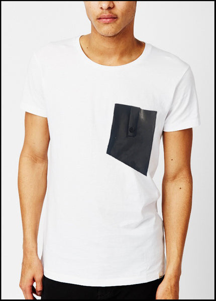 RYAN T SHIRT WHITE MENS