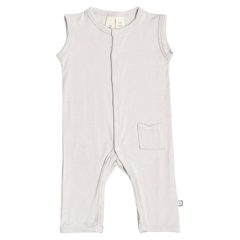 Sleeveless Romper in Oat