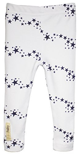 Organic Cotton Leggings in Navy Stars (12-18 Months)