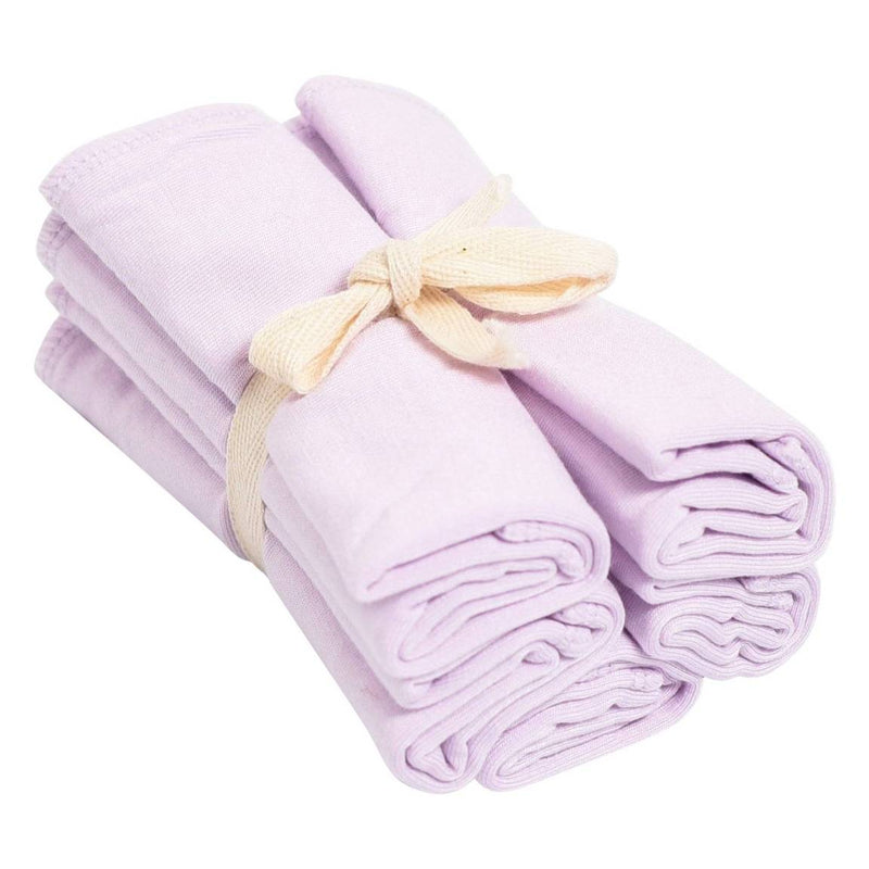 Washcloth- 5 pack in Mauve
