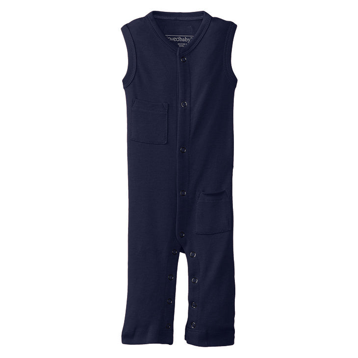 Sleeveless Overall (Navy)