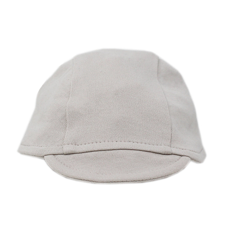 Organic Riding Cap-Pebble (0-3M)