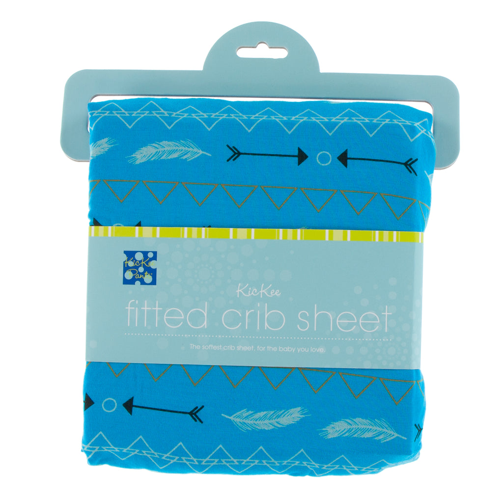 Print Fitted Crib Sheet in Amazon Southwest