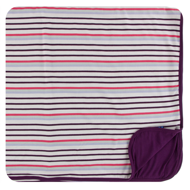 Print Toddler Blanket in Chemistry Stripe