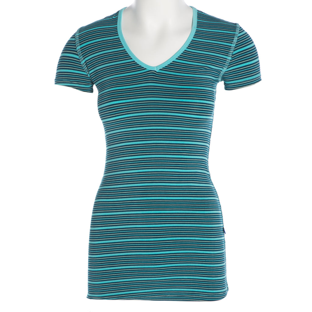 Short Sleeve One Tee - Shining Sea Stripe
