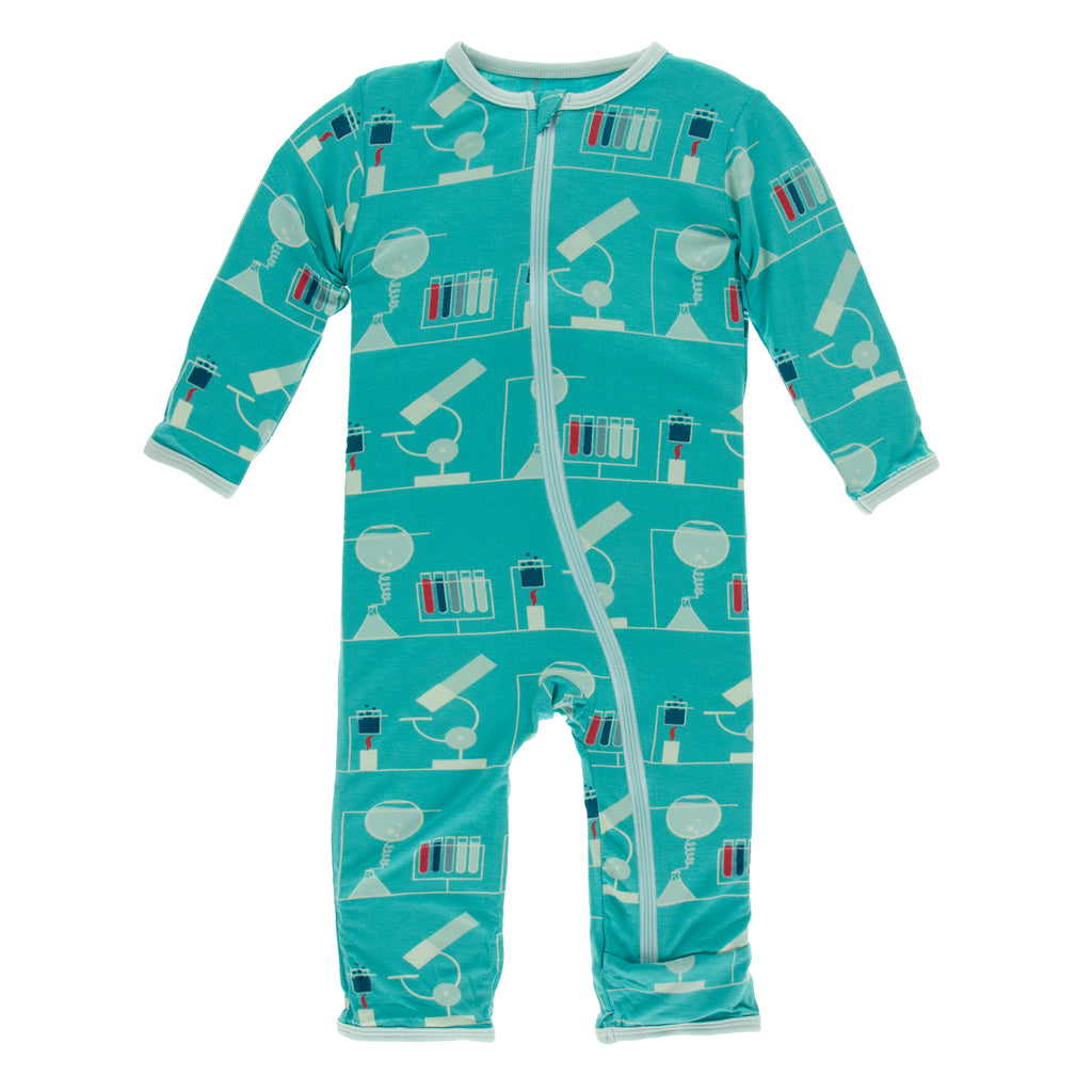 Print Coverall with Zipper in Neptune Chemistry Lab