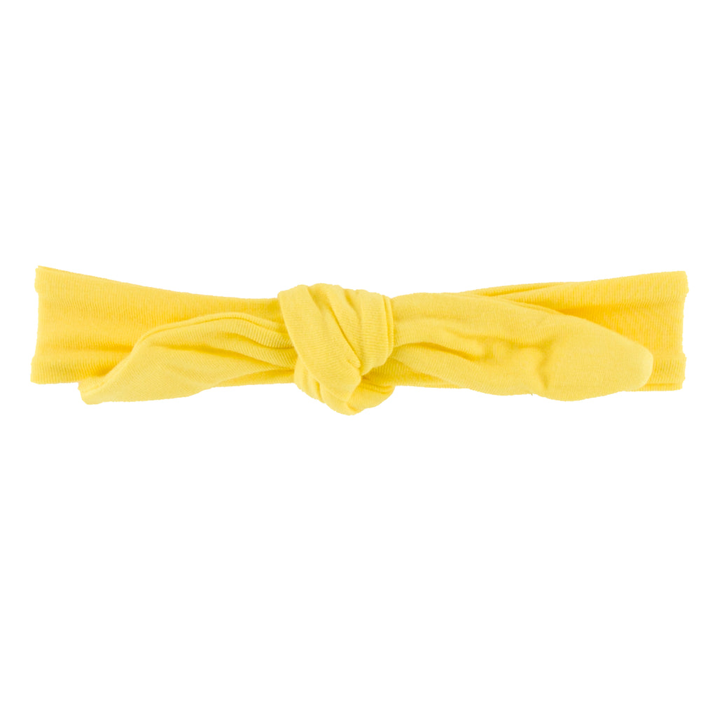 Solid Bow Headband in Zest (Medium)