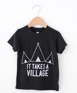 "Tiny Vines ""It Takes A Village"" Tee"
