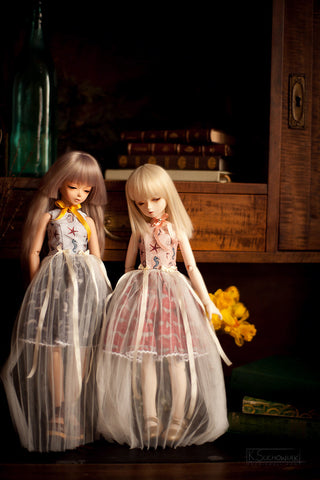 Forest Tales tulle dress SD / MSD and MNF / Yo-SD / Blythe