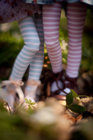 Forest Tales in pastel stockings SD / MSD and MNF / Yo-SD / Blythe