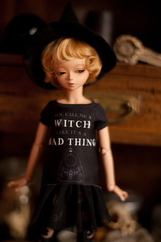 modern witch 'you call me a witch' t-shirt SD / MSD and MNF / Yo-sd / Blythe
