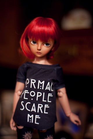 modern witch 'normal ppl scare me' t-shirt SD / MSD and MNF / Yo-sd / Blythe