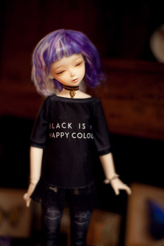 modern witch 'black colour' t-shirt SD / MSD and MNF / Yo-sd / Blythe