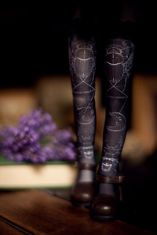 modern witch Beetles stockings SD / MSD / Blythe / Yo-SD / Monster High