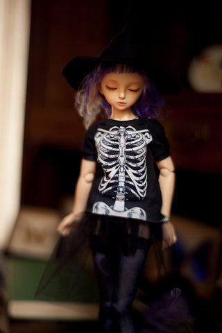 modern witch 'bones' t-shirt SD / MSD and MNF / Yo-sd / Blythe