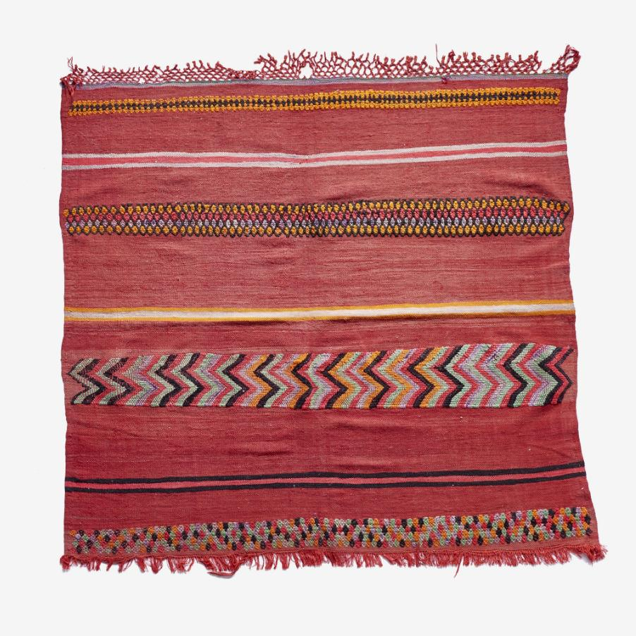 "Wild At Heart Berber Kilim - 5'-0"" x 5'-0"""