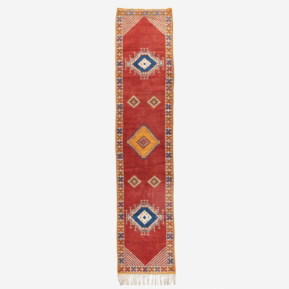 "Scarlet Wool Runner - 2'-7"" x 12'-2"""