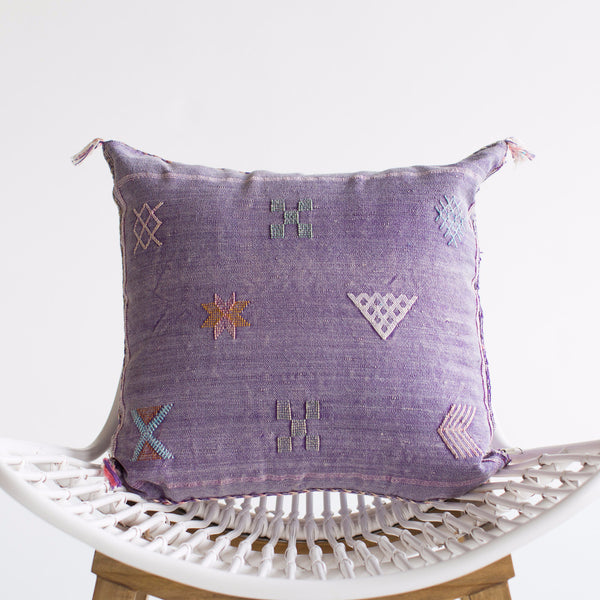 Amethyst II Sabra Silk Pillow