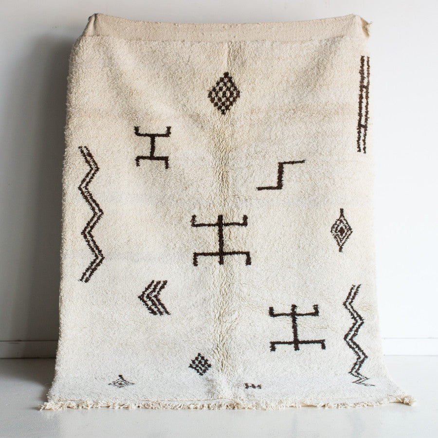 "Desert Stories Berber Rug - 5'-4"" x 8'-0"""