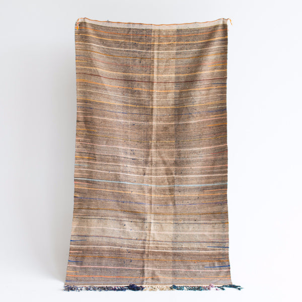 "Expedition Berber Wool Kilim - 3'-10"" x 7'-0"""