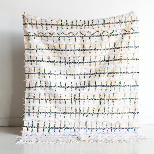 Metropolis Wool and Cotton Wedding Blanket