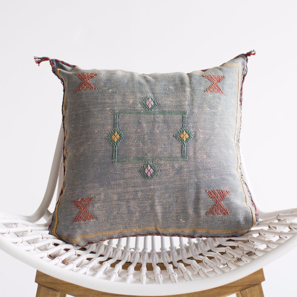 Jean Sabra Silk Pillow