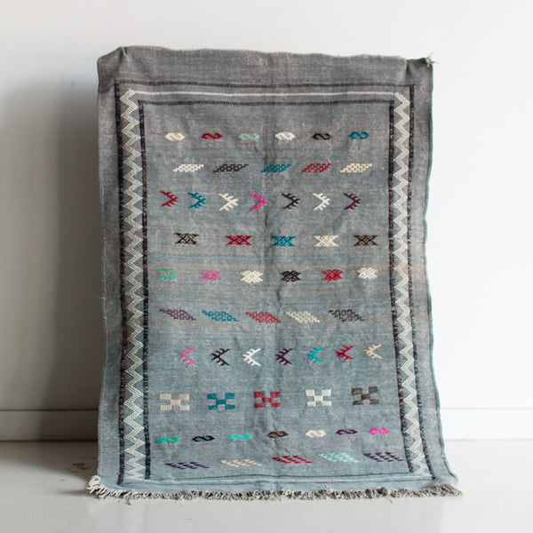 "Nathaniel's Tuesday II Cotton Kilim - 3'-1"" x 4'-10"""