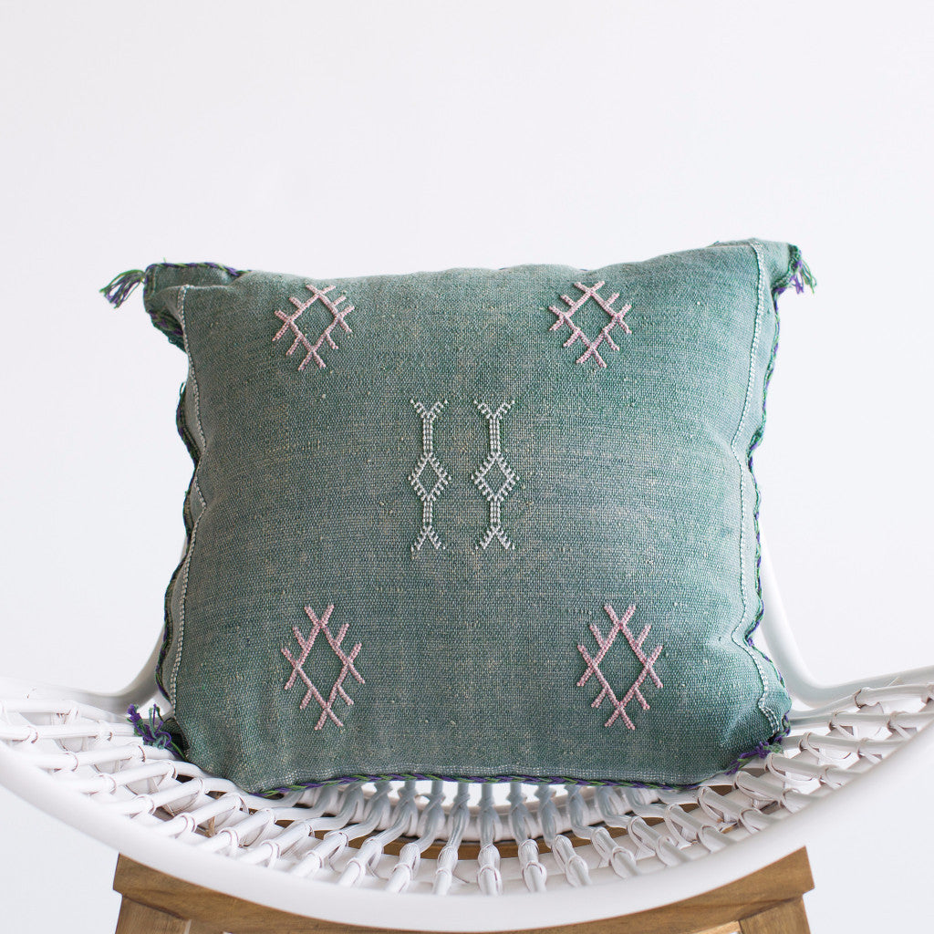 Mermaid Sabra Silk Pillow