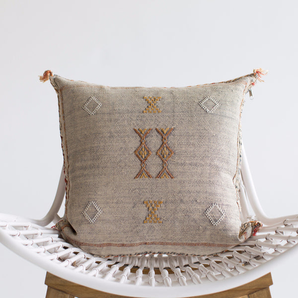 Moonlight Sabra Silk Pillow