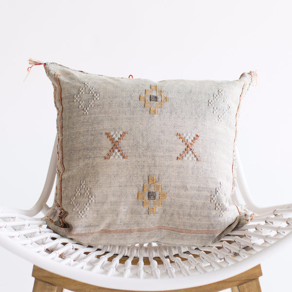 Seattle Sabra Silk Pillow