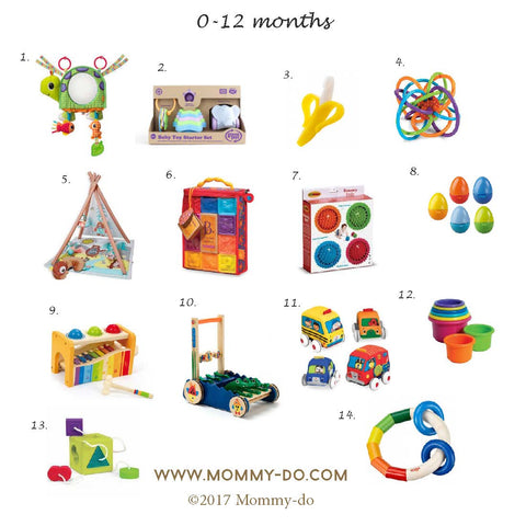 Development Activity Toys for Ages 0-12 Months