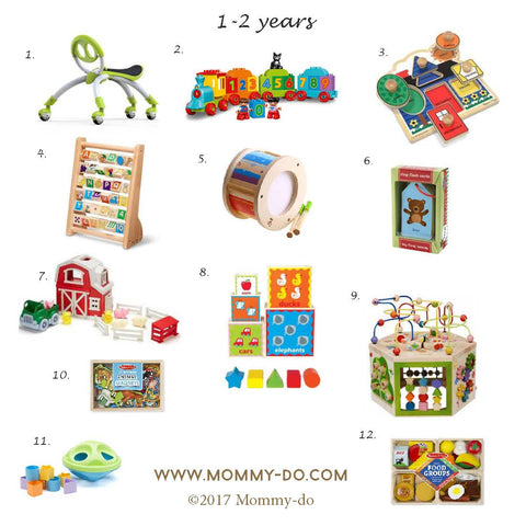 Development Activity Toys for Ages 1-2 Years