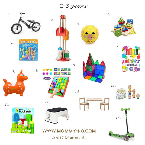 Development Activity Toys for Ages 2-3 Years