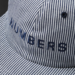 WORDMARK - DENIM 6-PANEL HAT