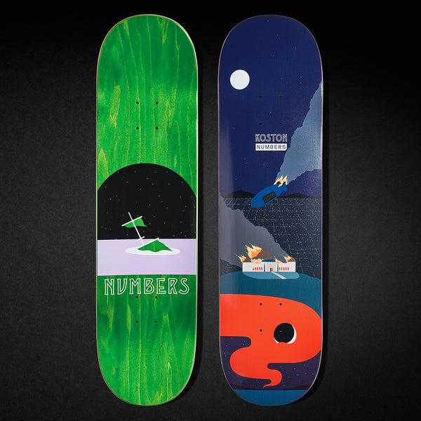 KOSTON DECK - EDITION 6 - 8.5 [SERIES 1]