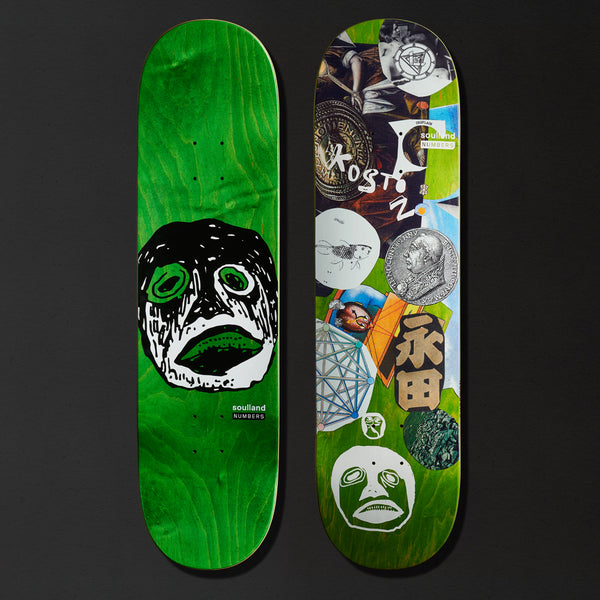 KOSTON DECK - EDITION 7 - 8.5""