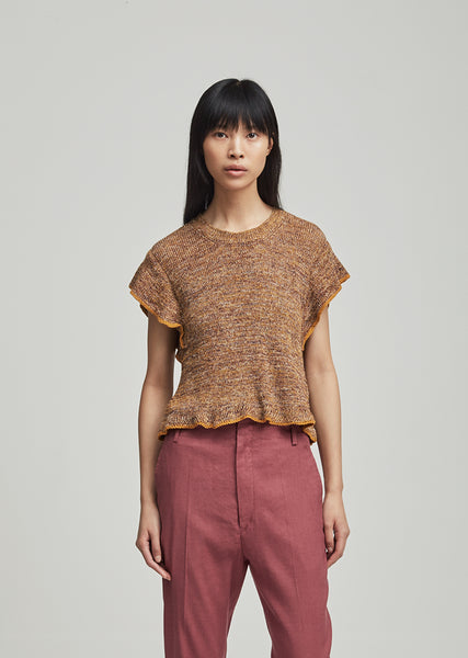 Bering Ribbed Linen Sweater