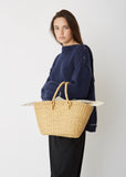 Claudia Straw Bag