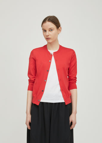Cotton Jersey Light Cardigan