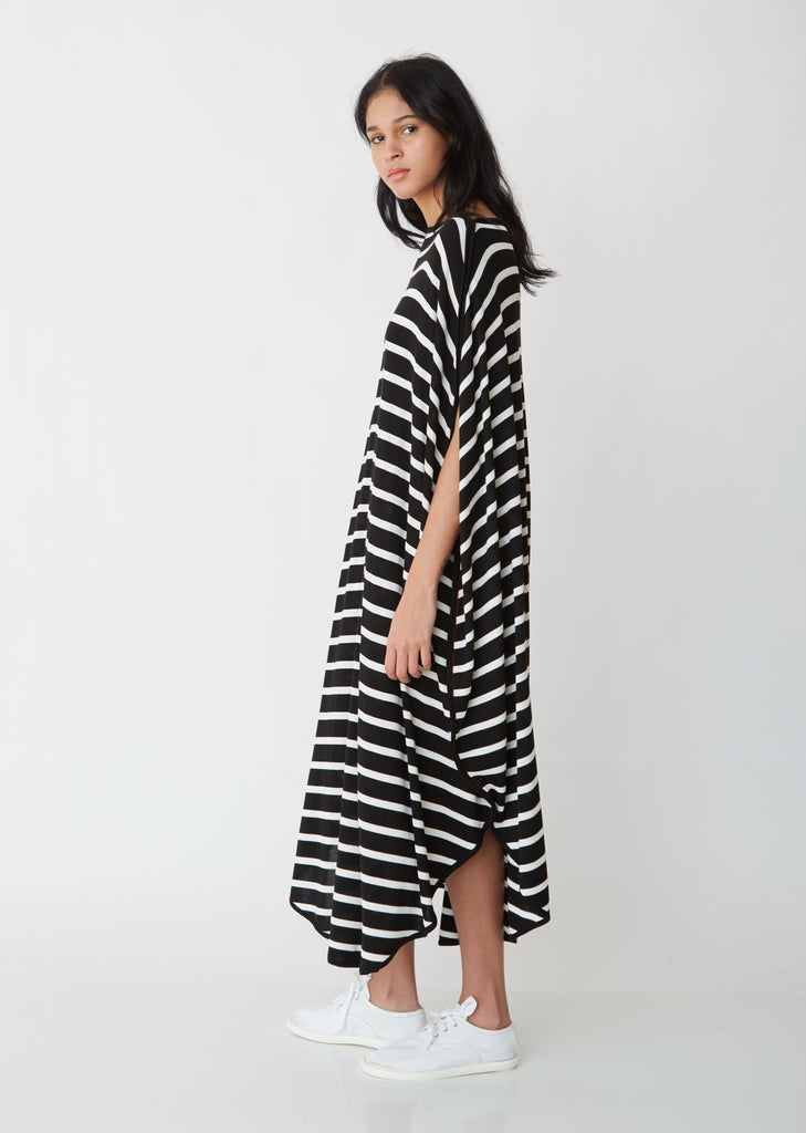 Circle Striped Dress