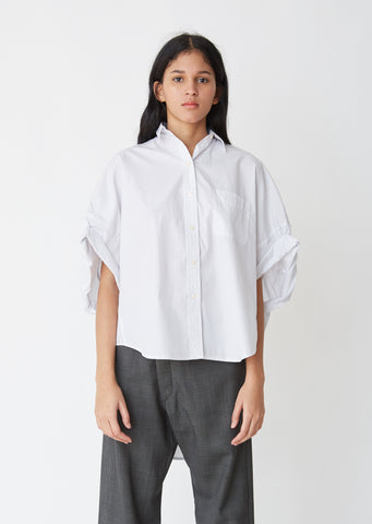 Oversized Rolled Sleeve Shirt