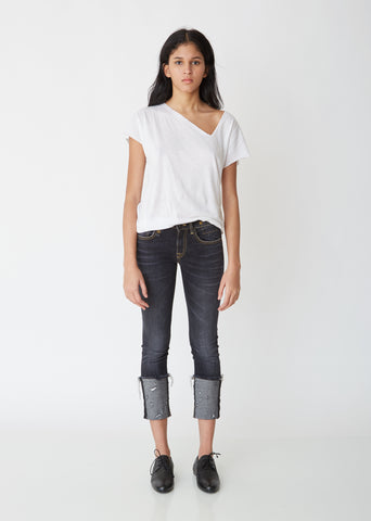 Kate Skinny Jeans with Cuff