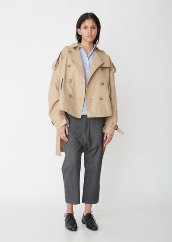 Tuck-In Trench Coat