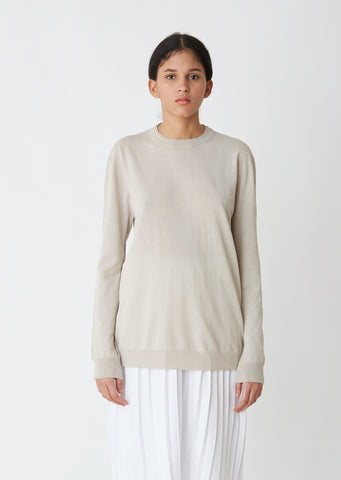 Amey Cotton Crewneck Sweater