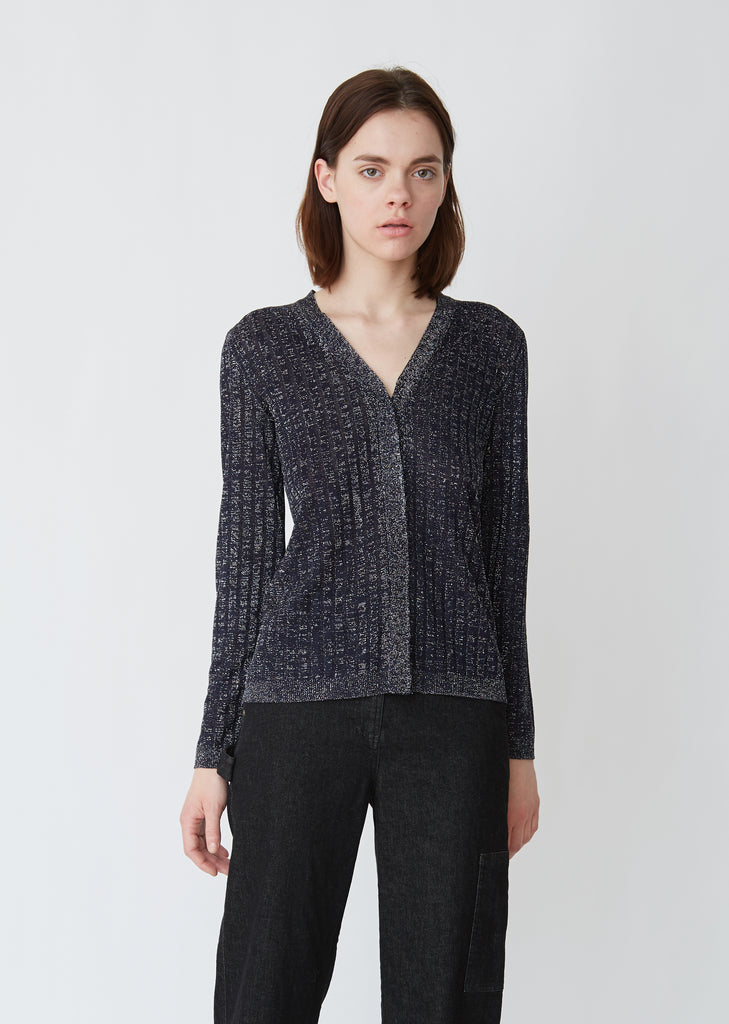 Parker Metallic Cardigan