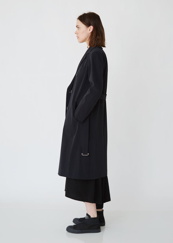 Double Breasted Twill Coat