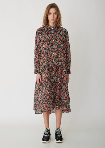 Eliane Cotton Voile Dress