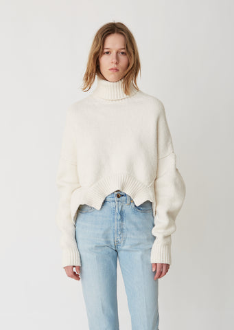 Amber Turtleneck Boxy Sweater